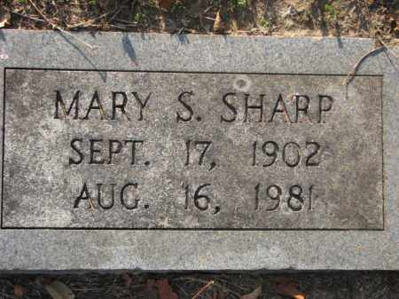 SHARP, MARY S. - Poinsett County, Arkansas | MARY S. SHARP - Arkansas Gravestone Photos