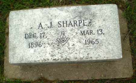 SHARPE, A.J. - Poinsett County, Arkansas | A.J. SHARPE - Arkansas Gravestone Photos