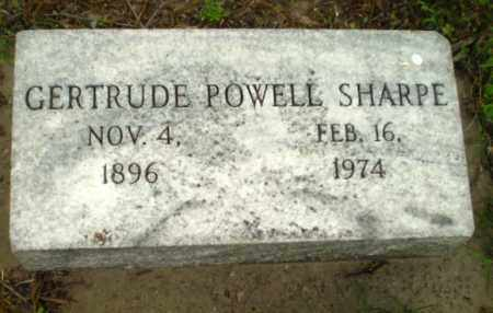 SHARPE, GERTRUDE - Poinsett County, Arkansas | GERTRUDE SHARPE - Arkansas Gravestone Photos
