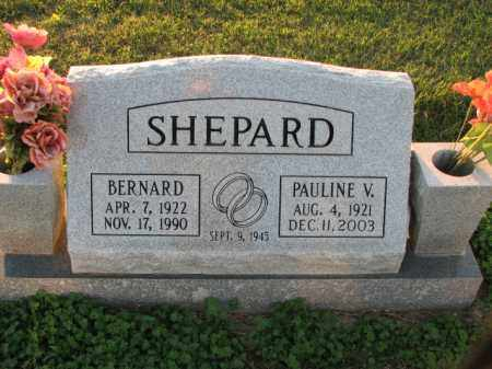 SHEPARD, BERNARD - Poinsett County, Arkansas | BERNARD SHEPARD - Arkansas Gravestone Photos