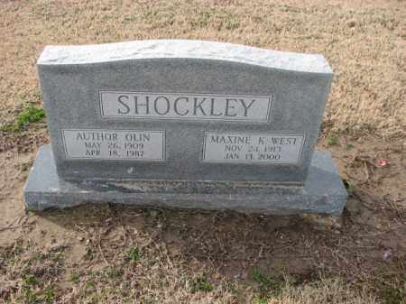 SHOCKLEY, MAXINE K. - Poinsett County, Arkansas | MAXINE K. SHOCKLEY - Arkansas Gravestone Photos