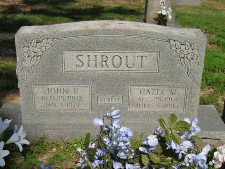SHROUT, JOHN E - Poinsett County, Arkansas | JOHN E SHROUT - Arkansas Gravestone Photos