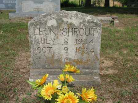 SHROUT, LEON - Poinsett County, Arkansas | LEON SHROUT - Arkansas Gravestone Photos