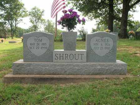 SHROUT, AGNES - Poinsett County, Arkansas | AGNES SHROUT - Arkansas Gravestone Photos
