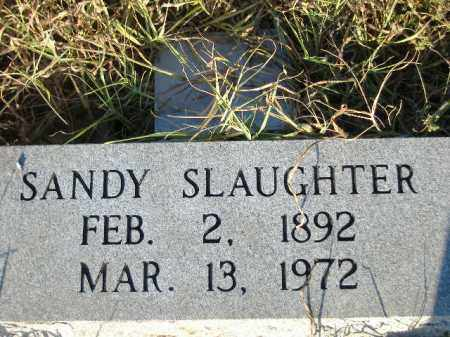 SLAUGHTER, SANDY - Poinsett County, Arkansas | SANDY SLAUGHTER - Arkansas Gravestone Photos