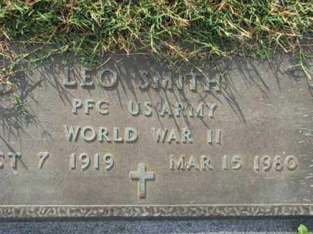 SMITH (VETERAN WWII), LEO - Poinsett County, Arkansas | LEO SMITH (VETERAN WWII) - Arkansas Gravestone Photos