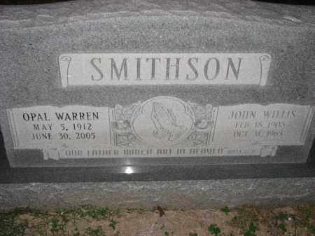 SMITHSON, JOHN - Poinsett County, Arkansas | JOHN SMITHSON - Arkansas Gravestone Photos
