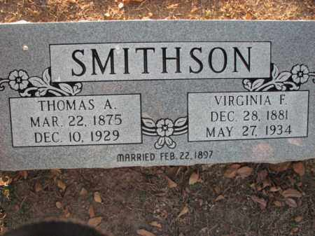 SMITHSON, THOMAS A. - Poinsett County, Arkansas | THOMAS A. SMITHSON - Arkansas Gravestone Photos
