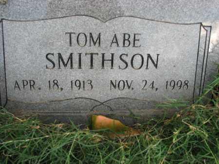 SMITHSON, TOM ABE - Poinsett County, Arkansas | TOM ABE SMITHSON - Arkansas Gravestone Photos