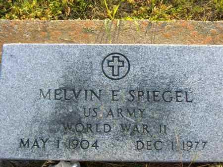 SPIEGEL  (VETERAN WWII), MELVIN E - Poinsett County, Arkansas | MELVIN E SPIEGEL  (VETERAN WWII) - Arkansas Gravestone Photos
