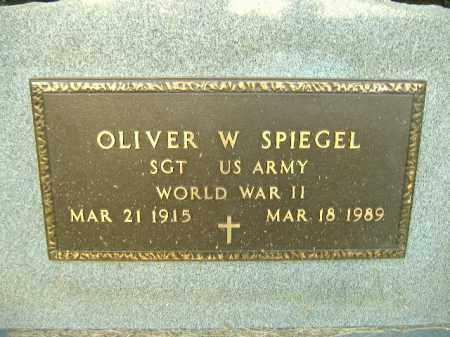 SPIEGEL  (VETERAN WWII), OLIVER W - Poinsett County, Arkansas | OLIVER W SPIEGEL  (VETERAN WWII) - Arkansas Gravestone Photos