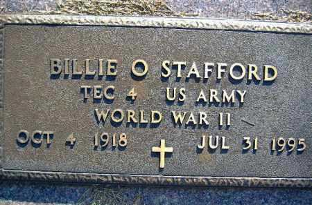 STAFFORD  (VETERAN WWII), BILLIE O. - Poinsett County, Arkansas | BILLIE O. STAFFORD  (VETERAN WWII) - Arkansas Gravestone Photos