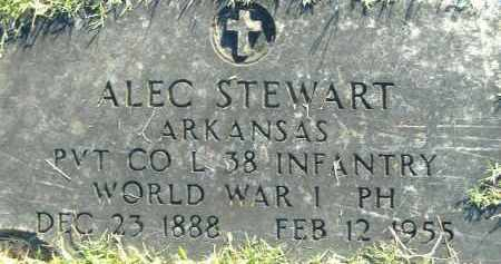 STEWART  (VETERAN WWI), ALEC - Poinsett County, Arkansas | ALEC STEWART  (VETERAN WWI) - Arkansas Gravestone Photos