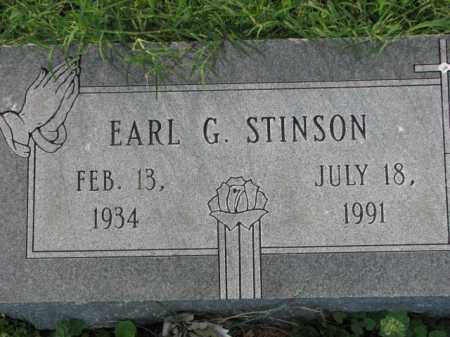 STINSON, EARL G. - Poinsett County, Arkansas | EARL G. STINSON - Arkansas Gravestone Photos