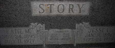 STORY, JESSE U. - Poinsett County, Arkansas | JESSE U. STORY - Arkansas Gravestone Photos