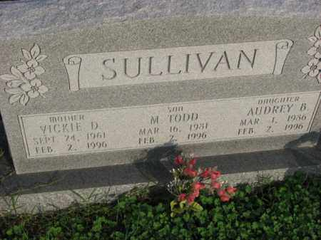 SULLIVAN, M. TODD - Poinsett County, Arkansas | M. TODD SULLIVAN - Arkansas Gravestone Photos
