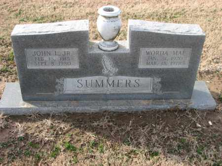 SUMMERS, JR, JOHN L. - Poinsett County, Arkansas | JOHN L. SUMMERS, JR - Arkansas Gravestone Photos