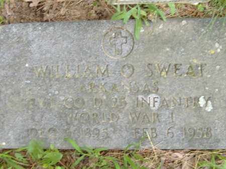 SWEAT  (VETERAN WWI), WILLIAM O - Poinsett County, Arkansas | WILLIAM O SWEAT  (VETERAN WWI) - Arkansas Gravestone Photos