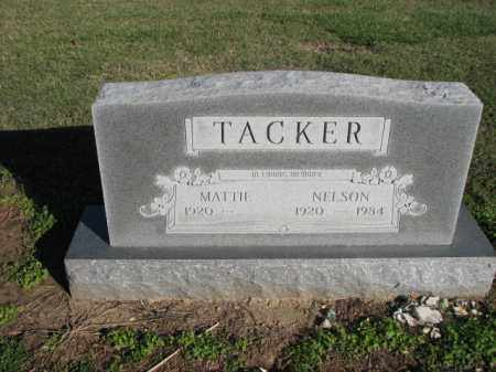 TACKER, NELSON - Poinsett County, Arkansas | NELSON TACKER - Arkansas Gravestone Photos