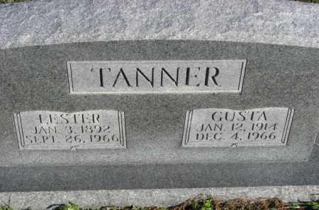 TANNER, GUSTA - Poinsett County, Arkansas | GUSTA TANNER - Arkansas Gravestone Photos