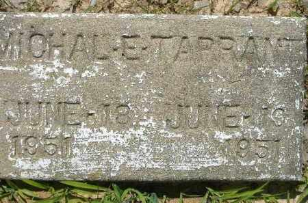 TARRANT, MICHAL E - Poinsett County, Arkansas | MICHAL E TARRANT - Arkansas Gravestone Photos