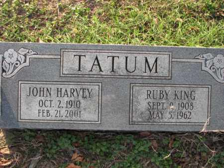 TATUM, JOHN HARVEY - Poinsett County, Arkansas | JOHN HARVEY TATUM - Arkansas Gravestone Photos