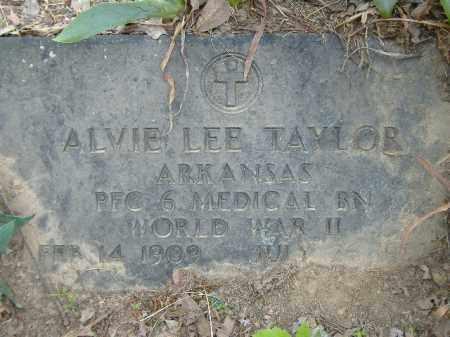 TAYLOR  (VETERAN WWII), ALVIE LEE - Poinsett County, Arkansas | ALVIE LEE TAYLOR  (VETERAN WWII) - Arkansas Gravestone Photos