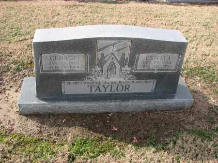 TAYLOR, ESTELLA - Poinsett County, Arkansas | ESTELLA TAYLOR - Arkansas Gravestone Photos