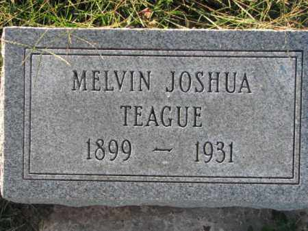 TEAGUE, MELVIN JOSHUA - Poinsett County, Arkansas | MELVIN JOSHUA TEAGUE - Arkansas Gravestone Photos