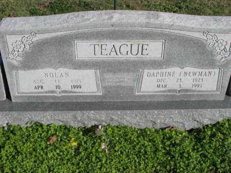 NEWMAN TEAGUE, DAPHINE - Poinsett County, Arkansas | DAPHINE NEWMAN TEAGUE - Arkansas Gravestone Photos