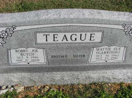 GARRISON TEAGUE, MATTIE SUE - Poinsett County, Arkansas | MATTIE SUE GARRISON TEAGUE - Arkansas Gravestone Photos