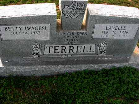 TERRELL, LAVELLE - Poinsett County, Arkansas | LAVELLE TERRELL - Arkansas Gravestone Photos