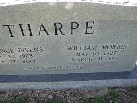 THARPE, WILLIAM MORRIS - Poinsett County, Arkansas | WILLIAM MORRIS THARPE - Arkansas Gravestone Photos