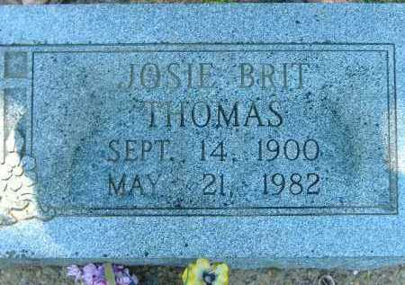THOMAS, JOSIE BRIT - Poinsett County, Arkansas | JOSIE BRIT THOMAS - Arkansas Gravestone Photos