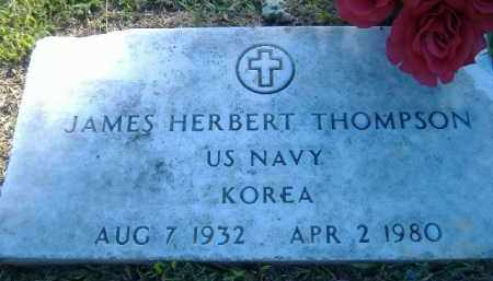THOMPSON  (VETERAN KOR), JAMES HERBERT - Poinsett County, Arkansas | JAMES HERBERT THOMPSON  (VETERAN KOR) - Arkansas Gravestone Photos