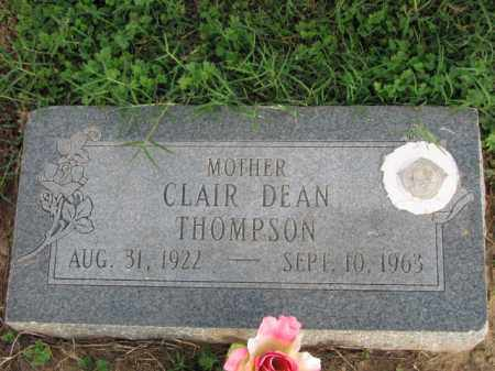 THOMPSON, CLAIR DEAN - Poinsett County, Arkansas | CLAIR DEAN THOMPSON - Arkansas Gravestone Photos