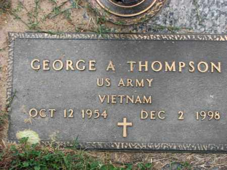 THOMPSON (VETERAN VIET), GEORGE A - Poinsett County, Arkansas | GEORGE A THOMPSON (VETERAN VIET) - Arkansas Gravestone Photos