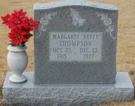 "THOMPSON, MARGARET ""BETTY"" - Poinsett County, Arkansas 