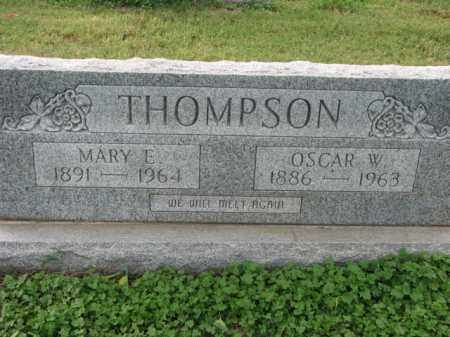 THOMPSON, OSCAR W. - Poinsett County, Arkansas | OSCAR W. THOMPSON - Arkansas Gravestone Photos