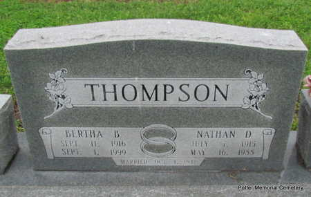 THOMPSON, NATHAN D. - Poinsett County, Arkansas | NATHAN D. THOMPSON - Arkansas Gravestone Photos