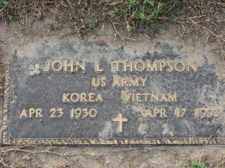 THOMPSON (VETERAN), JOHN L - Poinsett County, Arkansas | JOHN L THOMPSON (VETERAN) - Arkansas Gravestone Photos