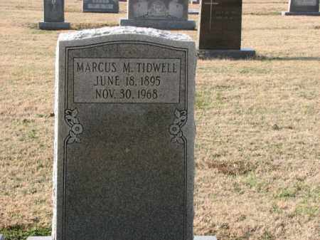 TIDWELL, MARCUS M. - Poinsett County, Arkansas | MARCUS M. TIDWELL - Arkansas Gravestone Photos