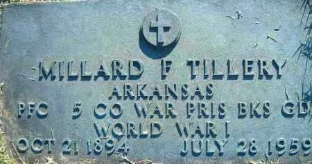 TILLERY  (VETERAN WWI), MILLARD F. - Poinsett County, Arkansas | MILLARD F. TILLERY  (VETERAN WWI) - Arkansas Gravestone Photos