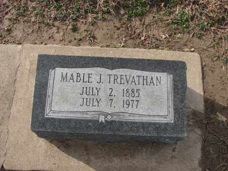TREVATHAN, MABLE J. - Poinsett County, Arkansas | MABLE J. TREVATHAN - Arkansas Gravestone Photos