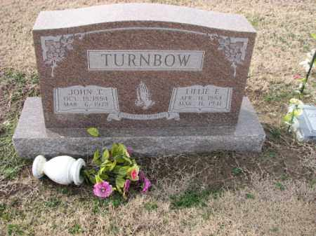 TURNBOW, LILLIE E. - Poinsett County, Arkansas | LILLIE E. TURNBOW - Arkansas Gravestone Photos