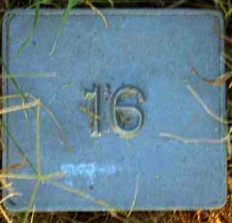 UNKNOWN, MARKER #16 - Poinsett County, Arkansas | MARKER #16 UNKNOWN - Arkansas Gravestone Photos