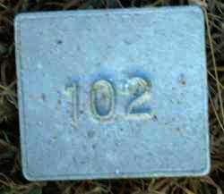 UNKNOWN, MARKER #102 - Poinsett County, Arkansas | MARKER #102 UNKNOWN - Arkansas Gravestone Photos