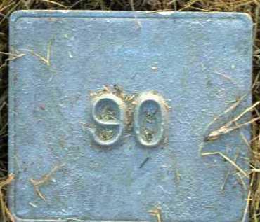 UNKNOWN, MARKER #90 - Poinsett County, Arkansas | MARKER #90 UNKNOWN - Arkansas Gravestone Photos