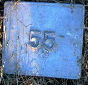 UNKNOWN, MARKER #55 - Poinsett County, Arkansas | MARKER #55 UNKNOWN - Arkansas Gravestone Photos