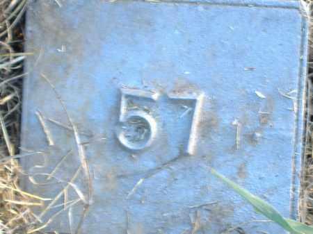 UNKNOWN, MARKER #57 - Poinsett County, Arkansas   MARKER #57 UNKNOWN - Arkansas Gravestone Photos